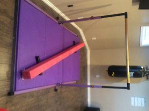 Gymnastics Bar Mat and Beam