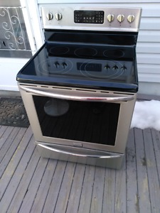 Just like new stainless steel stove