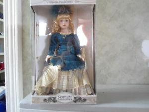 Keepsake Memories Porcelain Doll