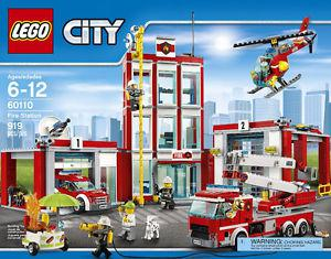 LEGO City Fire Fire Station 919-pc bradn new and sealed box
