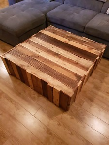 Large Reclaimed Wood Coffee Table