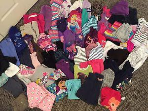 Large girls size 5 clothing lot