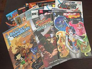 Loot Crate Exclusive & Comic Book Day Comics