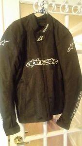 Men's Motorcycle Padded Jacket Like New