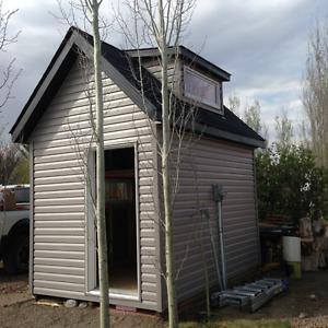 Mini Cabin for Sale!