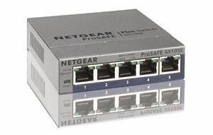 NETGEAR ProSAFE Plus Gigabit Switch (GS105E)