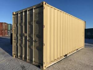 NEW 20' SEA CAN CONTAINERS | ADM STORAGE