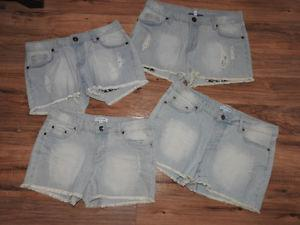 NEW jean shorts - only $5 each!! (sizes available 2, 4, 8 &