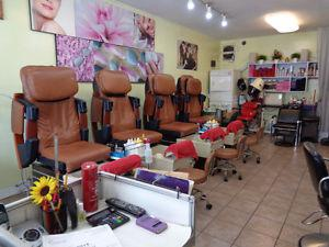 Nail & Hair salon in Busy Kingsway & Knight