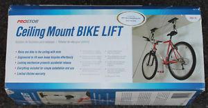 New ProStor Ceiling Mount Bike Lift
