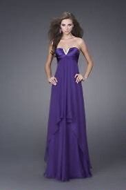 New with tags New York prom dress.