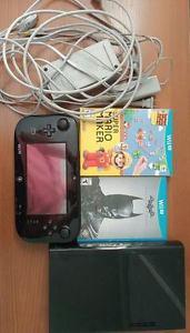 Nintendo Wii U 32GB Super Mario Maker and Batman