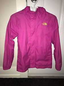 North face spring jacket size large kids, like new