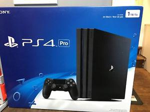 PS4 pro unopened trade for switch/zelda