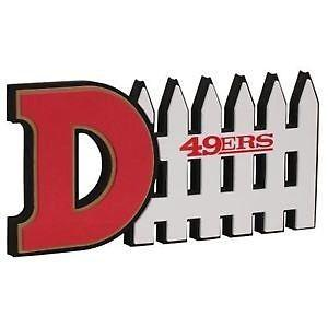 San Francisco 49ers 3D Fan Foam Defense Sign w/ Hand Strap
