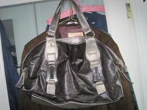 Sheen Leatherette Fashion Handbag Purse