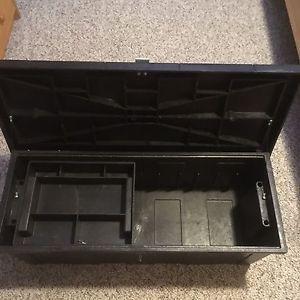 Strong black tool box...!
