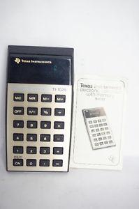 Texas Instruments TI- Electronic Vintage Calculator
