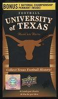 University of Texas Football Unopened Box UD Cards