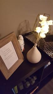 Various home decor items - $5 each!