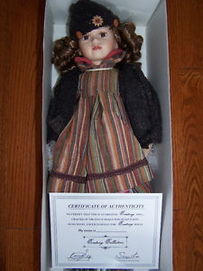 Vintage Hand Crafted Century collection Porcelain Doll