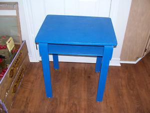 Vintage Wooden School Desk 18 by 24 and 28 Inches Tall