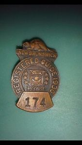 Wanted: Wanted- New Brunswick Guide Badges