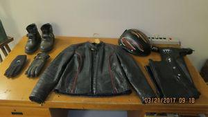 Womens motor cycle riding gear