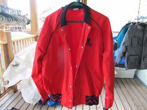 columbia chrome windbreaker style jacket size l