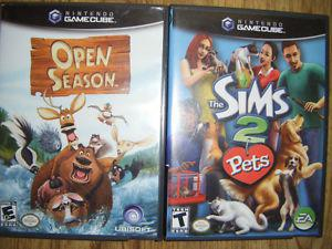 2 Gamecube games for sale