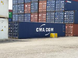 40' High Cube Storage and Shipping Containers - Sea Cans -