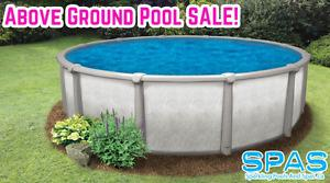 Above Ground Swimming Pool PRE SEASON SALE