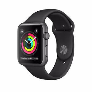 BRAND NEW Apple Watch Series 1 42mm Space Gray // sealed