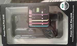 BRAND NEW Power Pack Plus 4/4S for iPhone