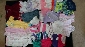 Baby girl 3 month clothing lot. 30 pieces! Spring/summer!