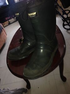 Baffin technology steel toe rubber boots for sale