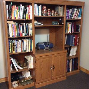 Book Shelf& Entertainment unit