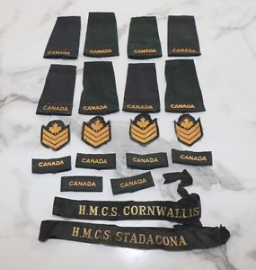 Canadian Military (Navy) Badges,
