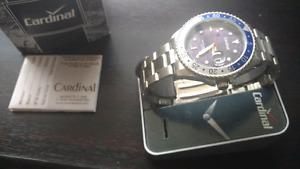 Cardinal Men's watch. Brand new with box. Never worn.