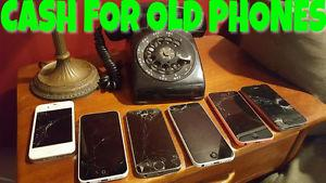 Cash for iPhones - Broken, Damaged or Good condition