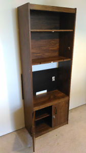 Four-layer bookcase with doors for sale $30 only!