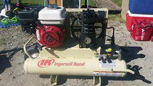 Ingersoll Rand Gas Powered Air Compressor