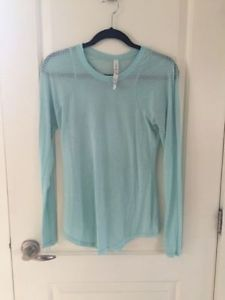 Ladies Lululemon short & long sleeve shirts Size 8