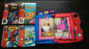 LeapPad interactive books and cartridges