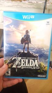 Legend of Zelda Breath of the Wild (Wii U)