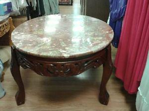 MarbleTop Coffee Table