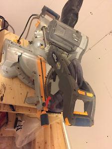 "Maximum 10"" Dual Bevel Sliding Compound Mitre Saw"