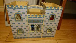 Melissa and Doug folding castle