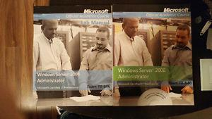 Microsoft official Academic Course Text and Lab Books