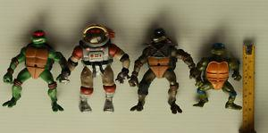 Mixed Lot of 4 TMNT ) and
